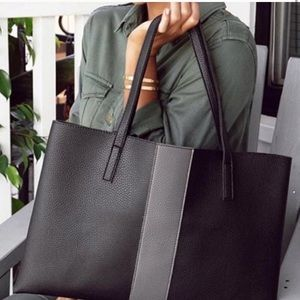 Vince Camuto / vegan leather / tote!